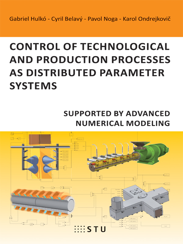 Control of technological and production processes asdistributed parameter systems