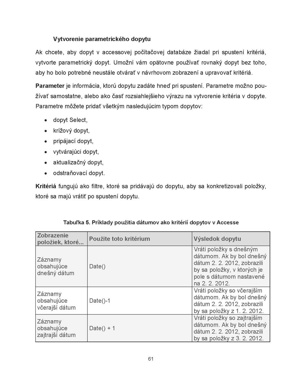 Databázové a tabuľkové systémy na vyhodnocovanie dát 3