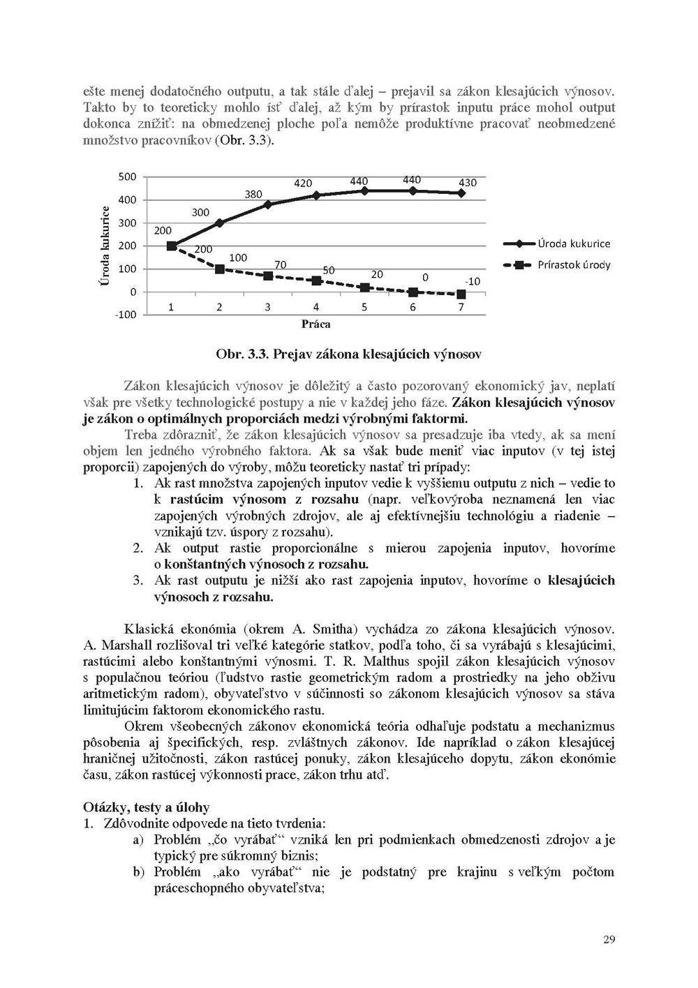 Všeobecná ekonomická teória 2