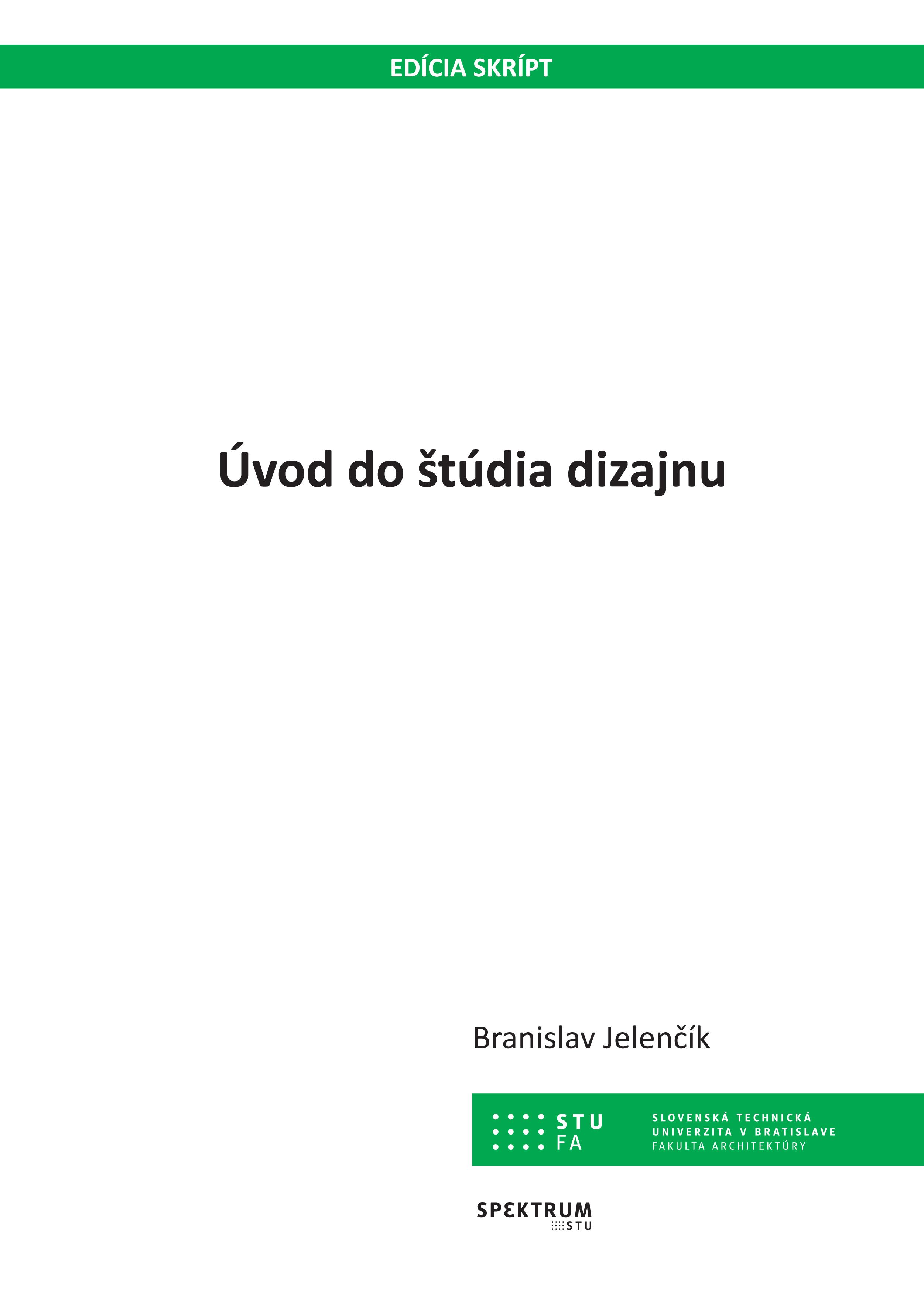 Úvod do štúdia dizajnu