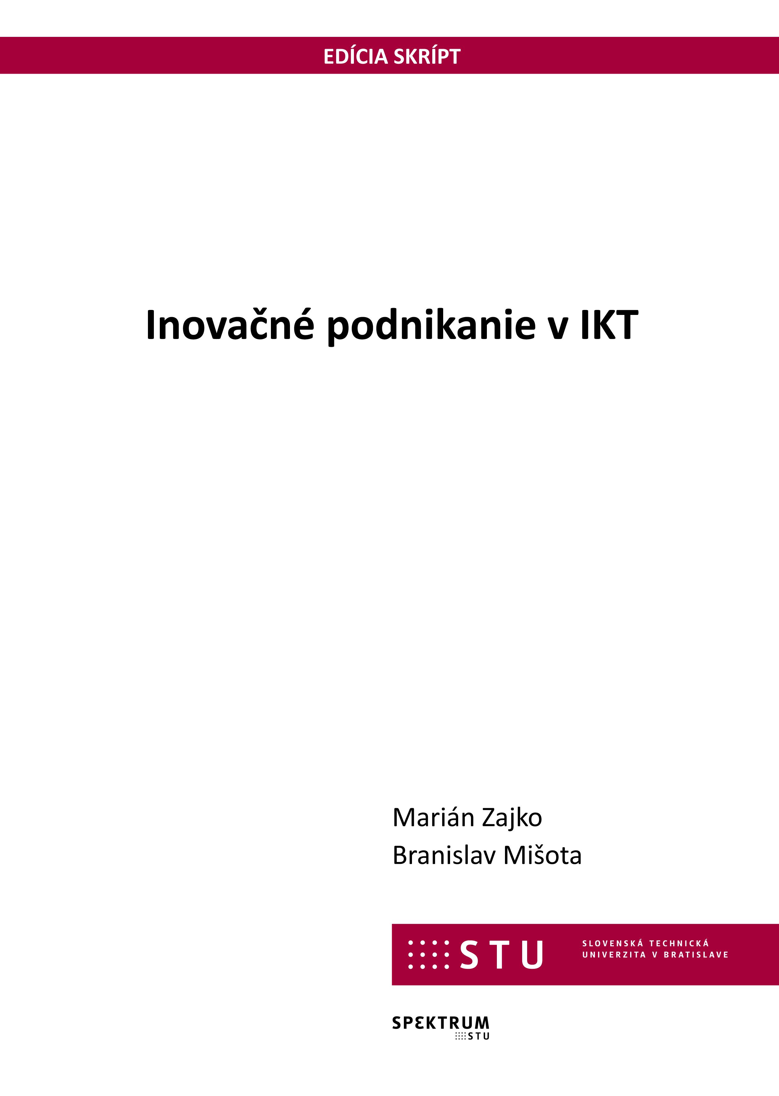 Inovačné podnikanie v IKT