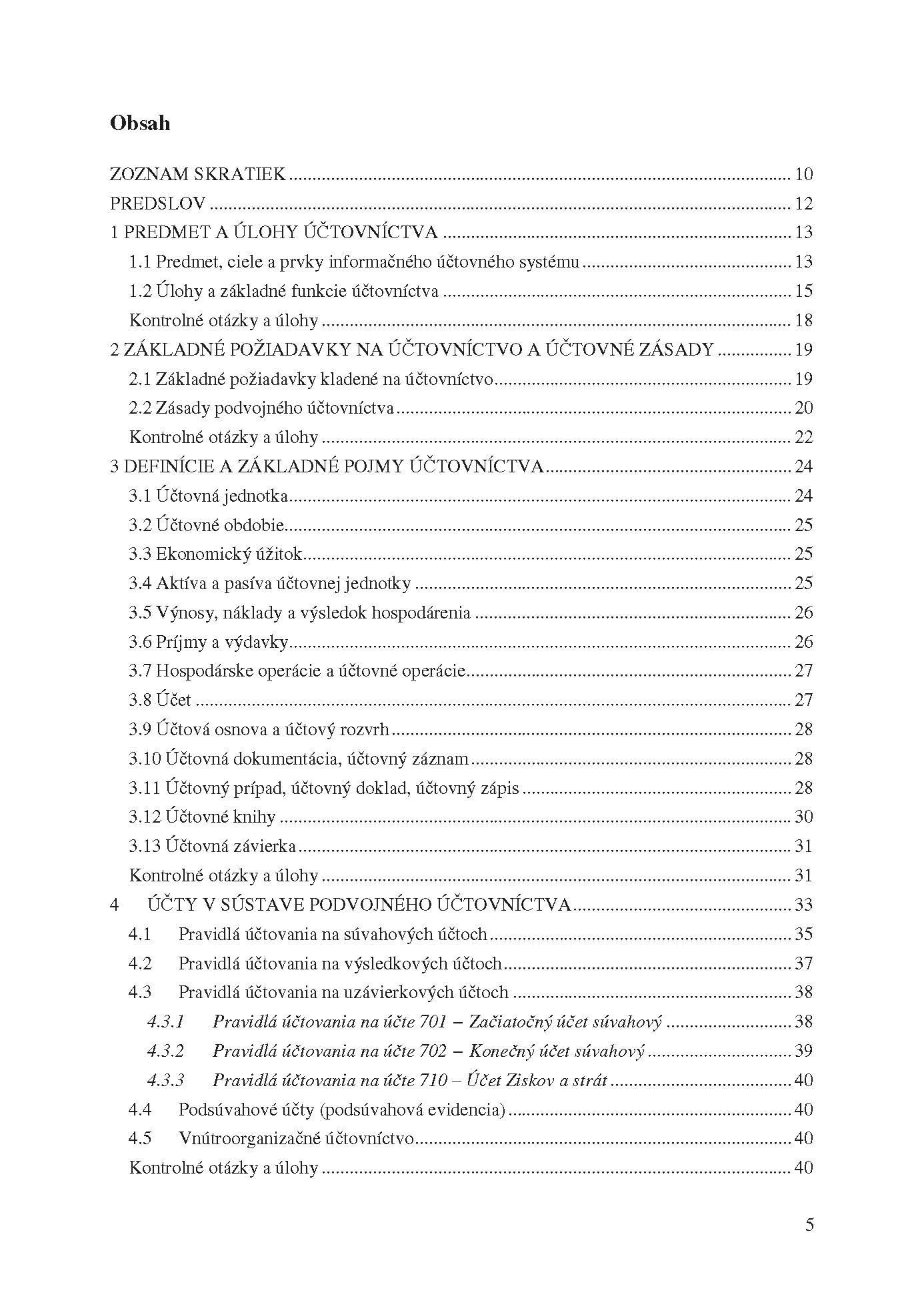 Základy podvojného účtovníctva v priemyselných podnikoch. Teória a praktické aplikácie 2
