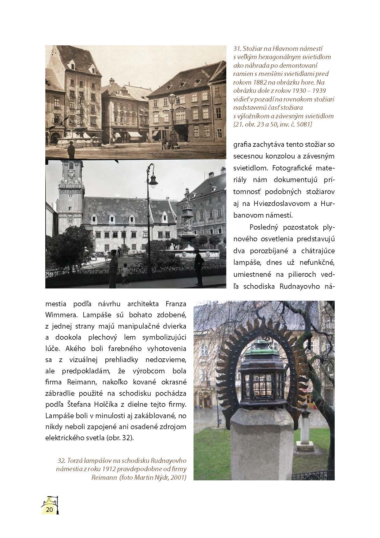 Lampy verejného osvetlenia v Bratislave 2
