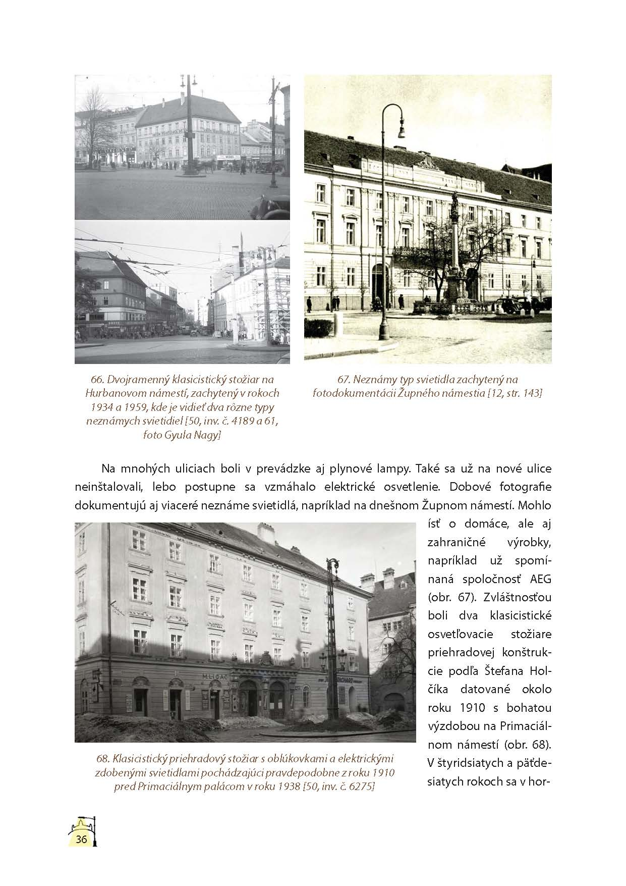 Lampy verejného osvetlenia v Bratislave 6