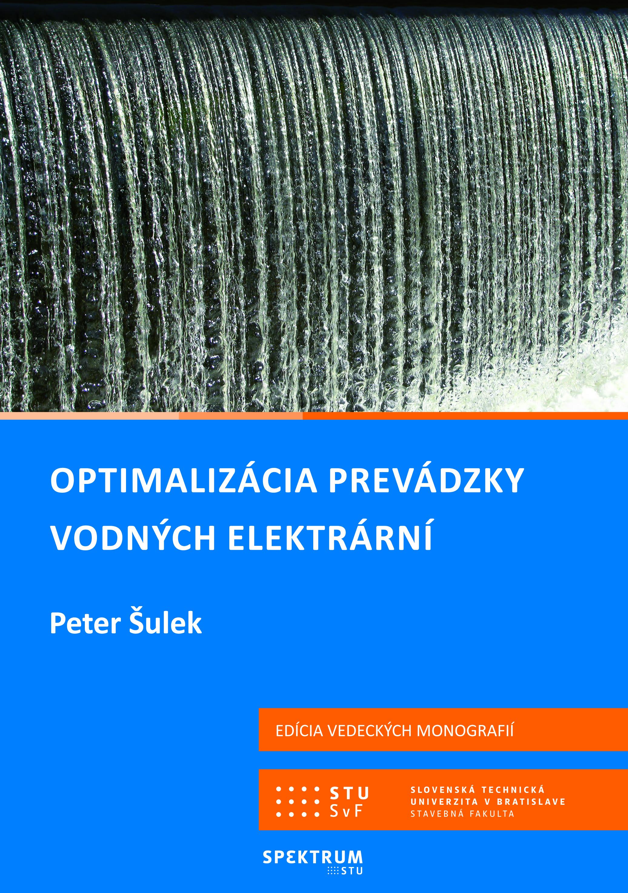 Optimalizácia prevádzky vodných elektrární 1