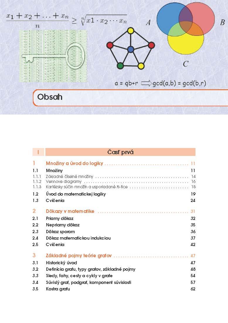 Diskrétna matematika pre študentov aplikovanej informatiky FEI STU 2