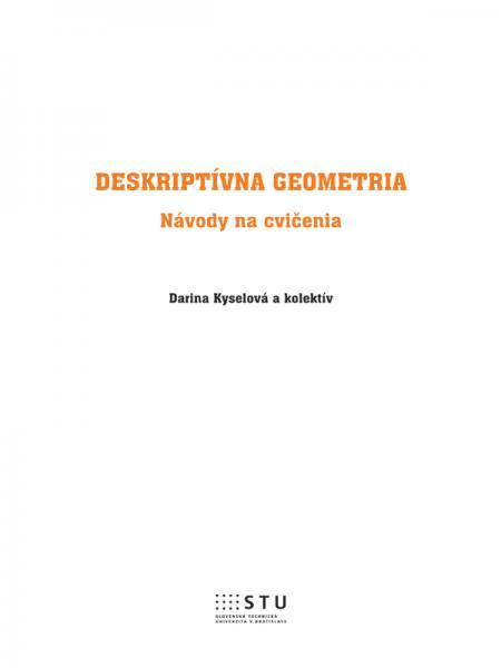Deskriptívna geometria