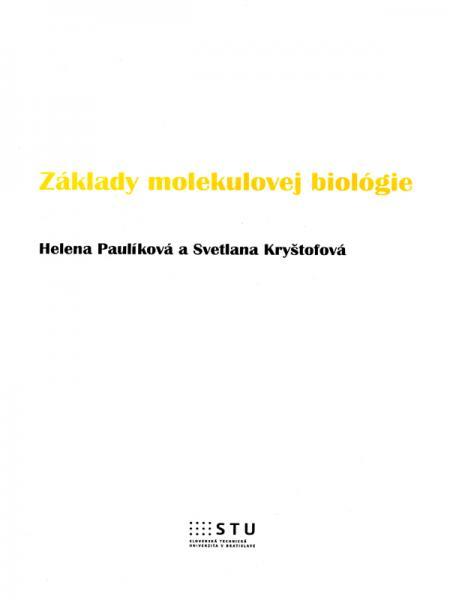 Základy molekulovej biológie