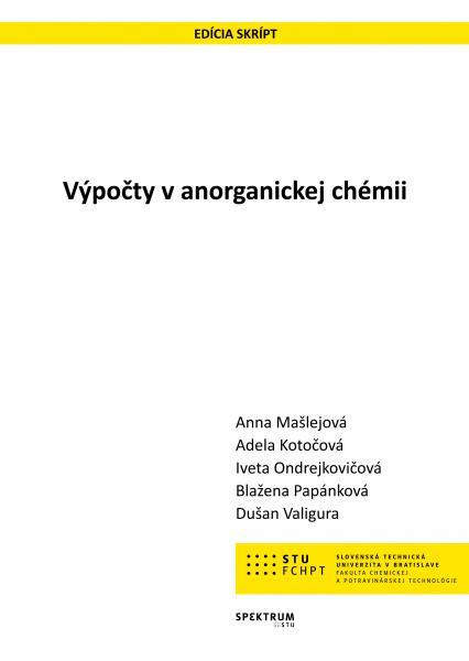 Výpočty v anorganickej chémii