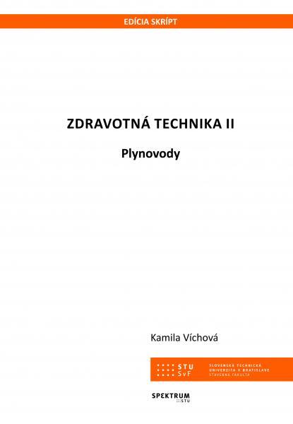 Zdravotná technika II. Plynovody