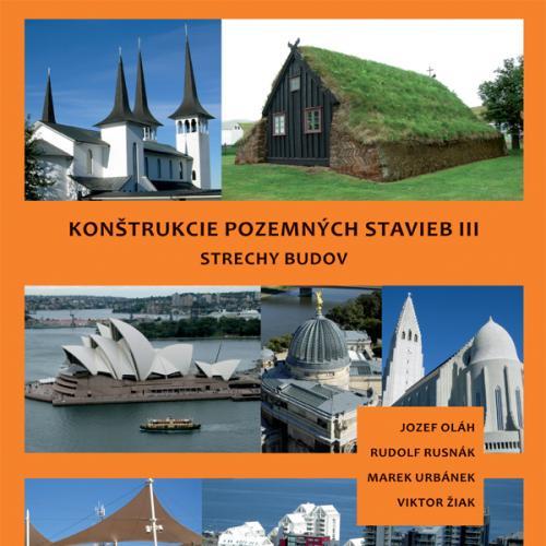 Konštrukcie pozemných stavieb III - Strechy budov