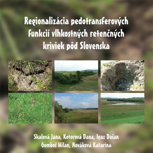 Regionalizácia predotransferových funkcií vlhkostných retenčných kriviek pôd Slovenska