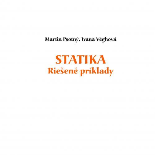 Statika - Riešené príklady