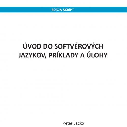 Úvod do softvérových jazykov, príklady a úlohy